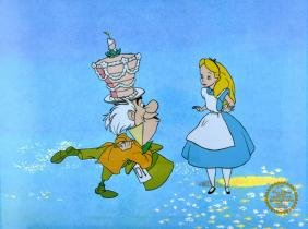 Walt Disney (After) Serigraph, Cell, Alice In