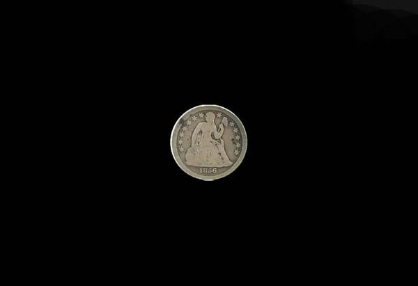 3016: GOV: 1856 Silver Dime Coin, COLLECTABLE!!