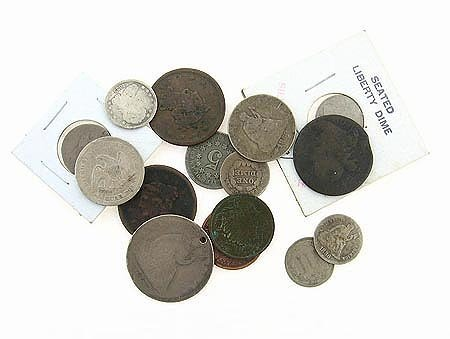 3033: 15 Assorted US Coins Coin, COLLECT!