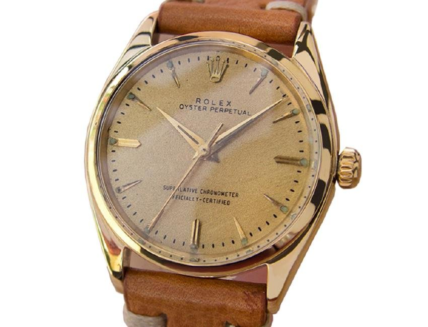 *Rolex 1002/1005 Automatic Movement 14KT Solid Gold