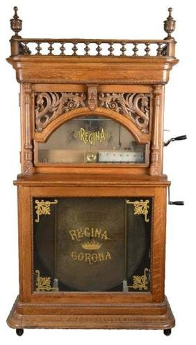 Rare Antique 5¢ Regina Dragon Front Music Machine