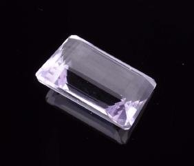 APP: 1.6k 62.00CT Emerald Cut Light Purple Amethyst