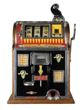 Rare Antique 5¢ Mills Rockola Reserve Slot Machine