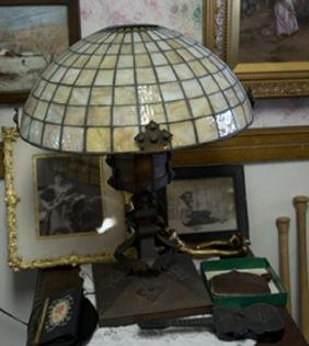 Bradley & Hubbard Lamp Rare