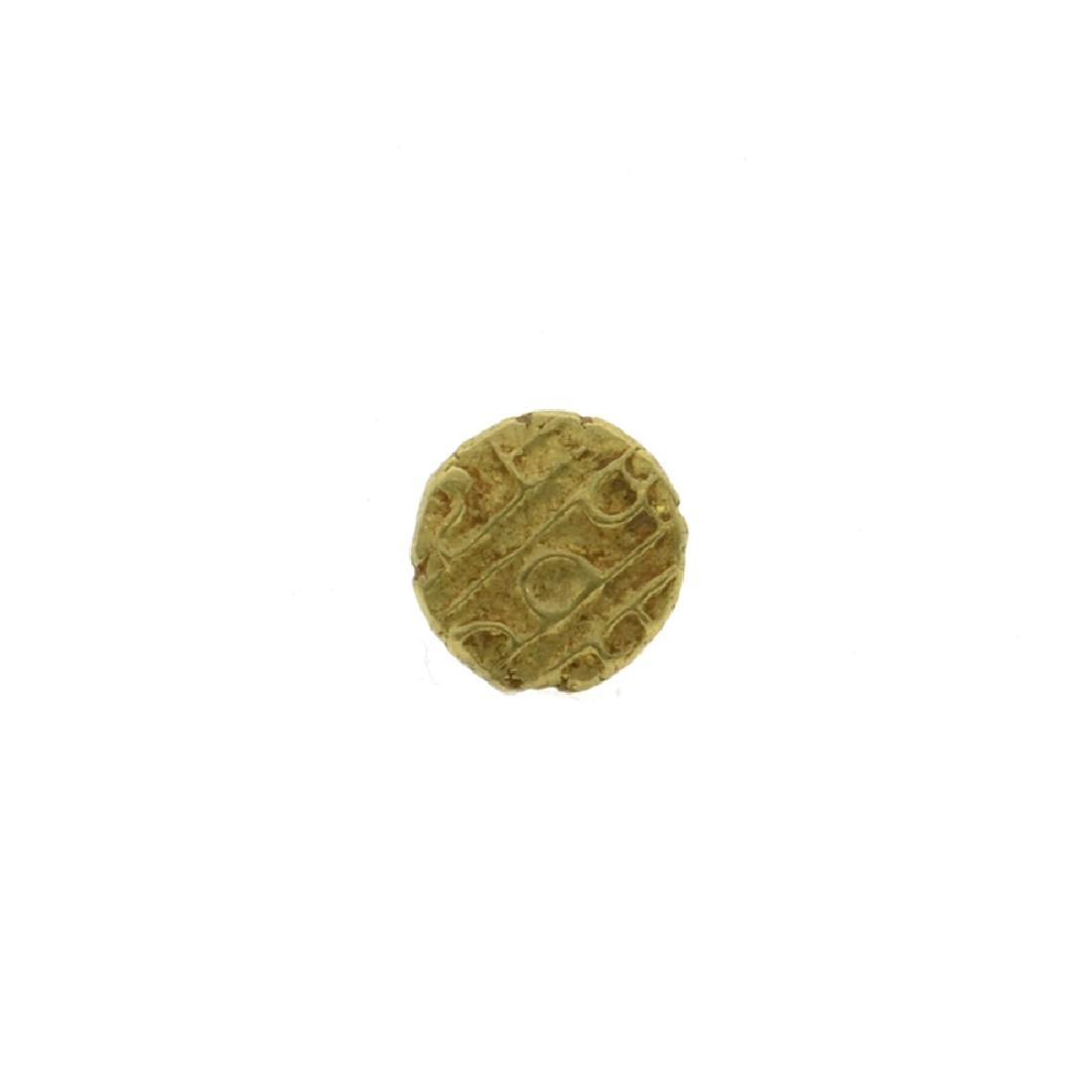 Gold Dutch India AV Fanam (1670 - 1784) Coin