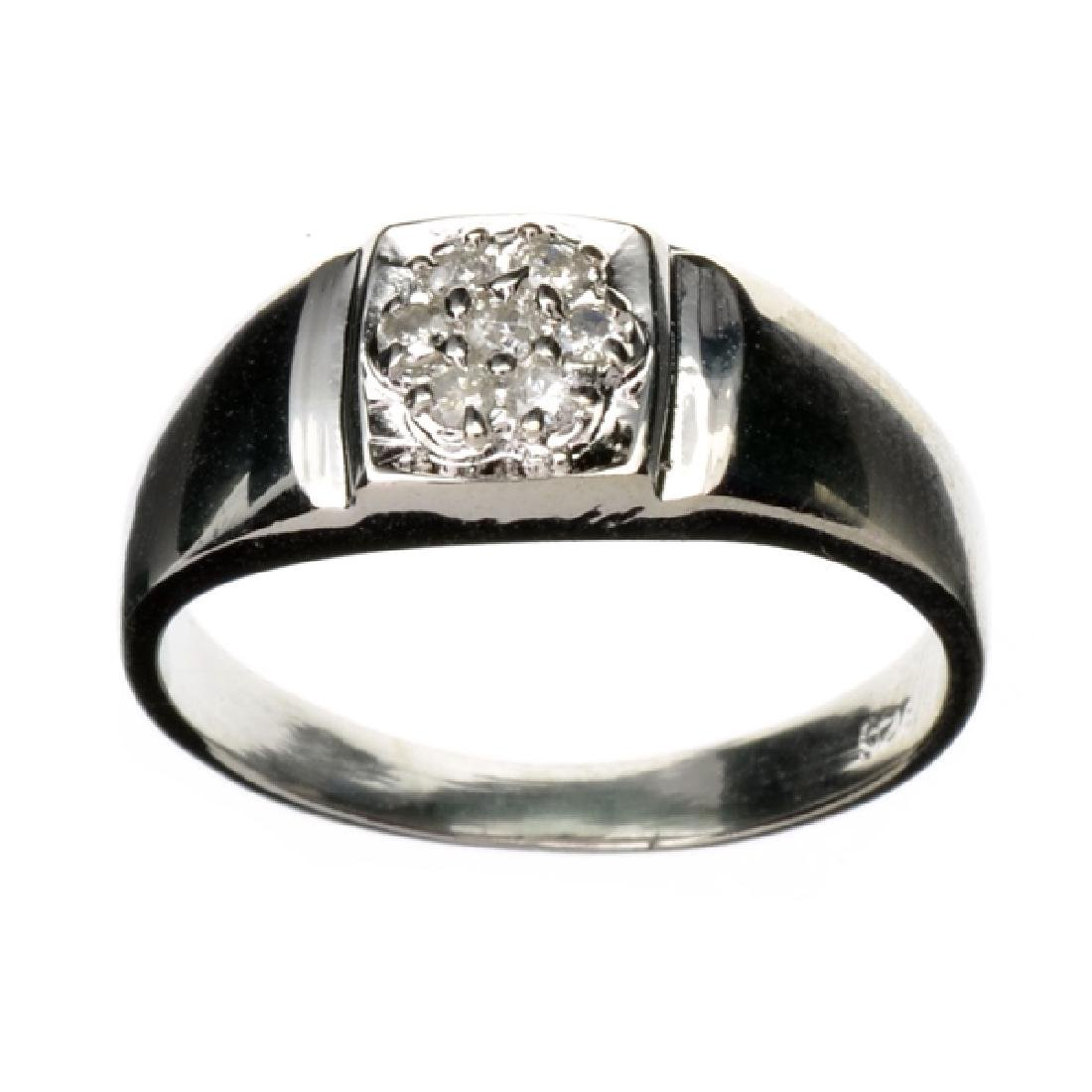 APP: 1.1k 0.20CT Round Cut Diamond and Platinum Over
