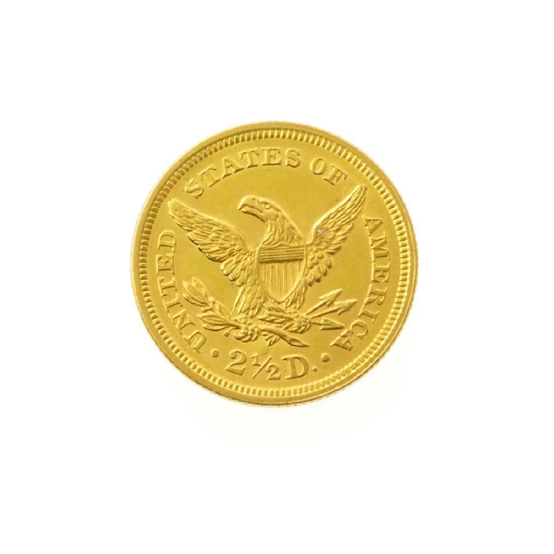 *1853 $2.50 U.S. Liberty Head Gold Coin (JG-JWJ) - 2