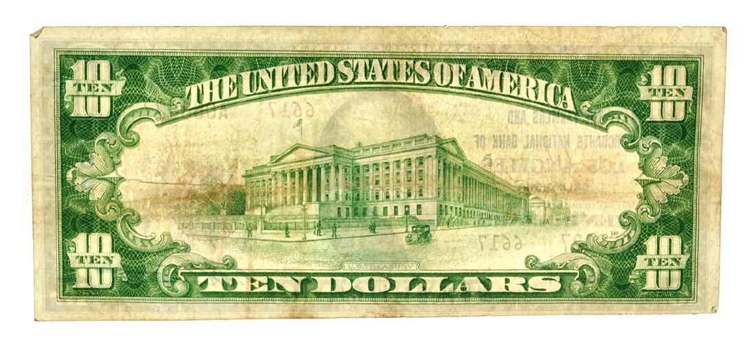 $10 The Farmers And Merchants National Bank Of Los - 2