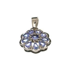 APP: 1.6k Fine Jewelry 1.80CT Tanzanite And Sterling