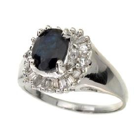 APP: 4.4k 1.65CT Blue Sapphire Topaz and Diamond