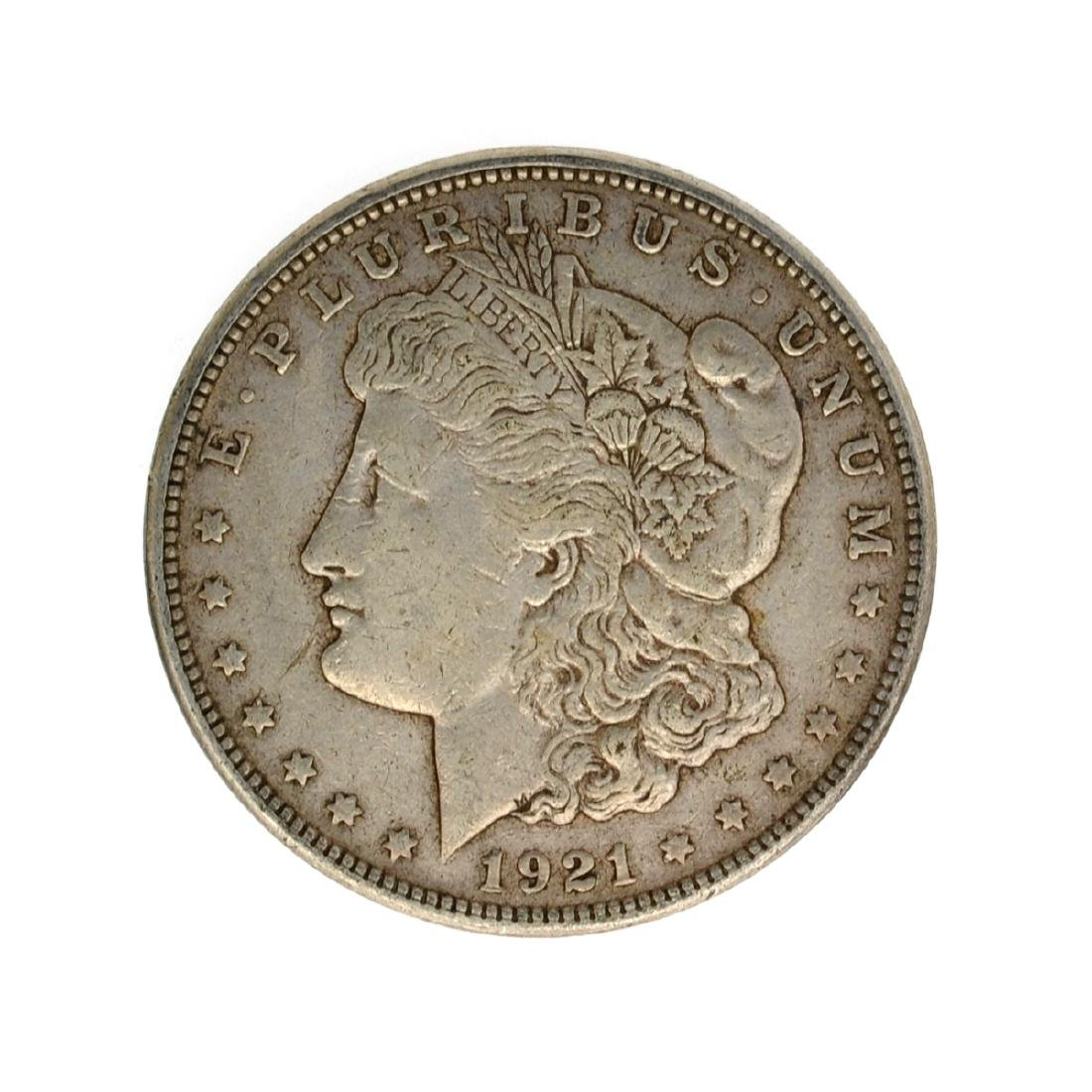 1921 Morgan Silver Dollar Coin