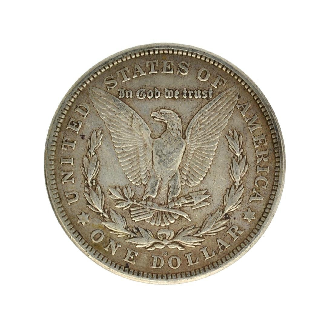 1921 Morgan Silver Dollar Coin - 2