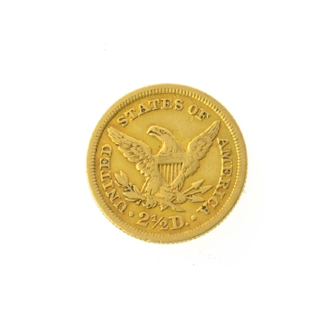 *1853 $2.50 U.S. Liberty Head Gold Coin (JG-JWJ) - 2