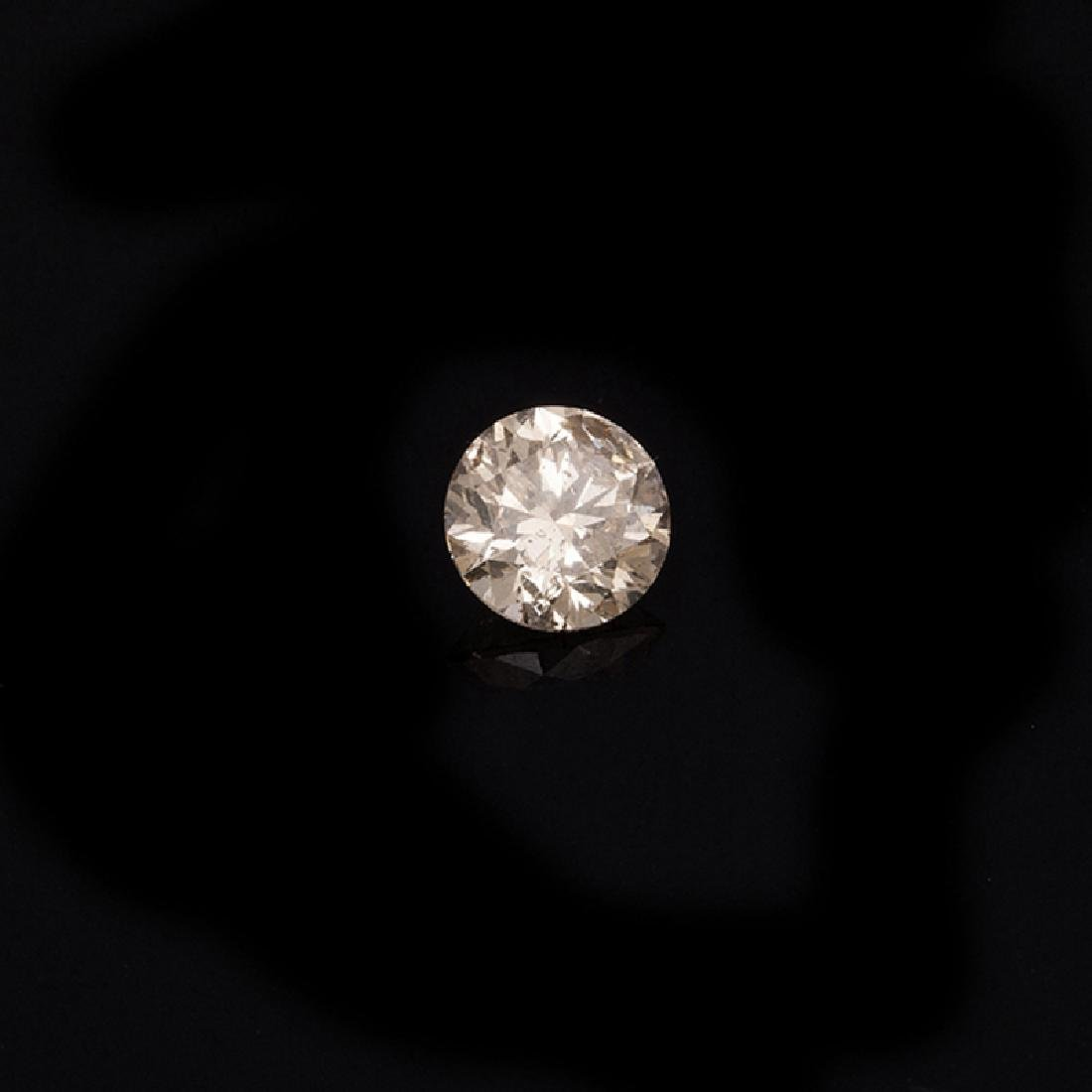Fine Jewelry GIA Certified 0.26CT Brilliant Round Cut
