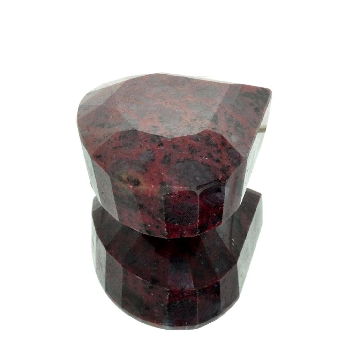 APP: 7.4k 2,962.50CT Pear Cut Red Corundum Ruby