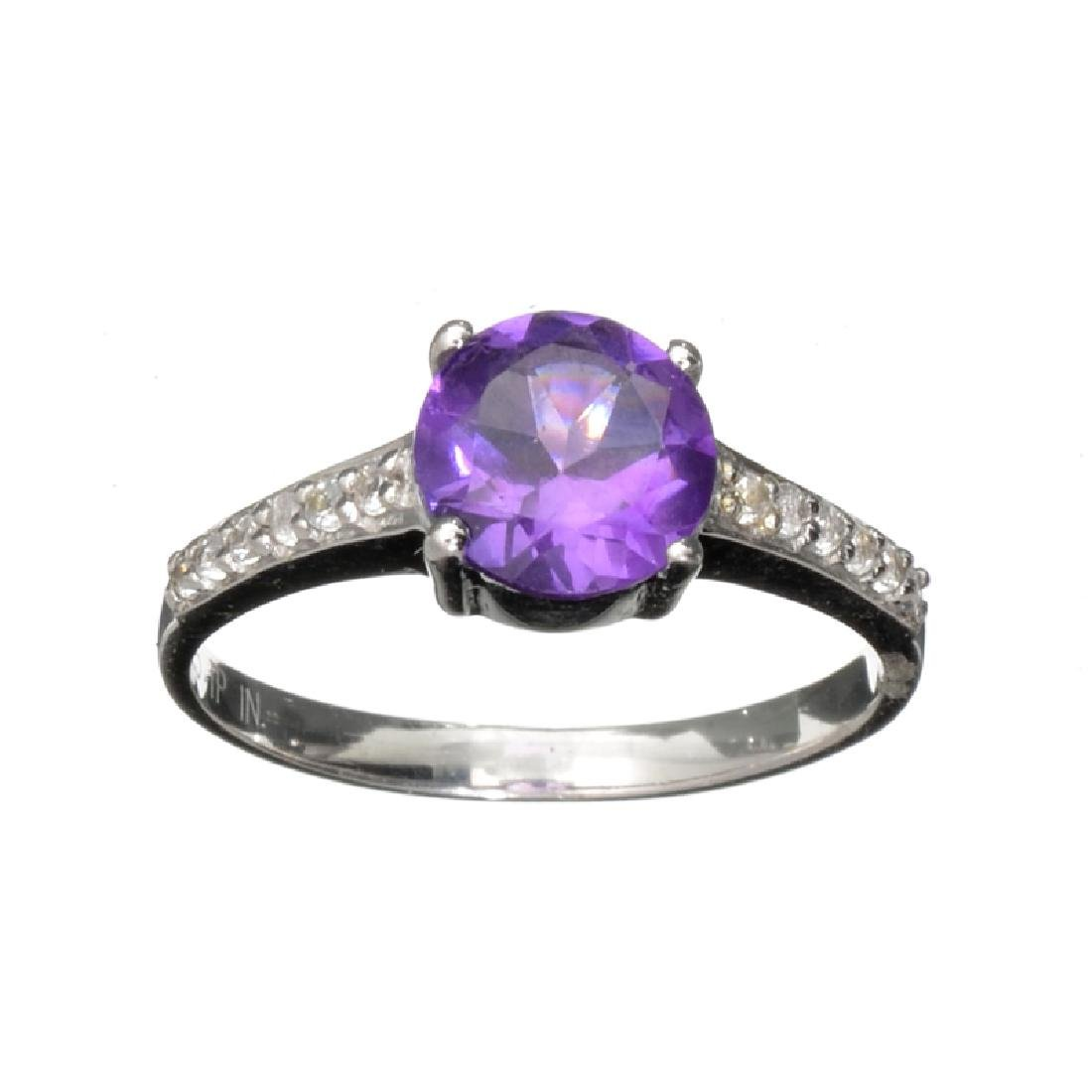 APP: 0.7k Fine Jewelry 1.040CT Round Cut Purple