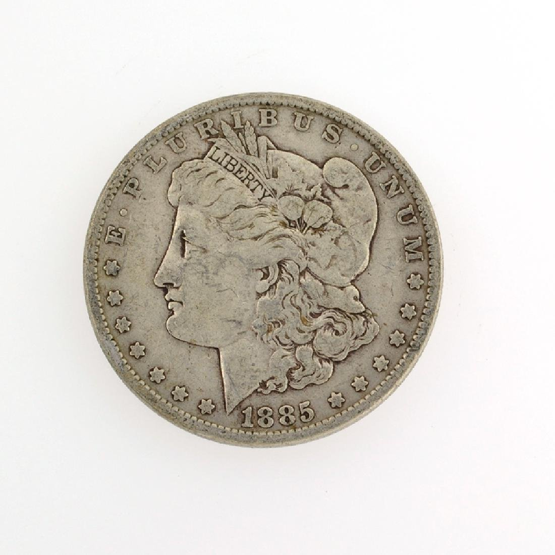 1885 Morgan Silver Dollar Coin
