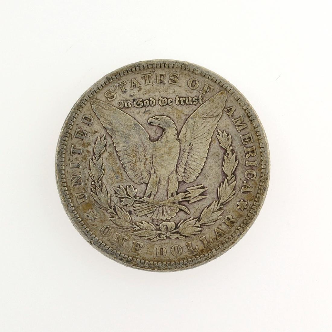 1885 Morgan Silver Dollar Coin - 2