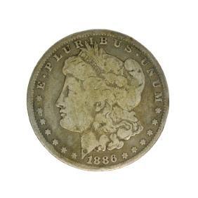 1886-S Morgan Silver Dollar Coin