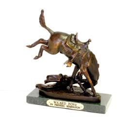 Wicked Pony- By Frederic Remington- Bronze Reissue