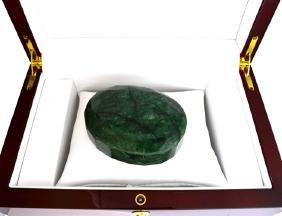 APP: 8.9k 1114.85CT Oval Cut Green Beryl Emerald