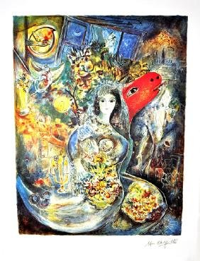 MARC CHAGALL (After) Bella Print, I84 of 500