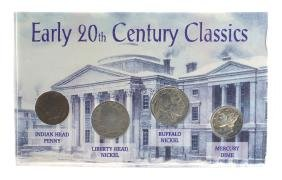Early 20th Century Classics Coin Set