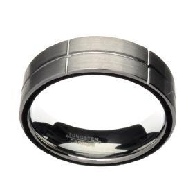 Rare Tungsten Size 8 Ring