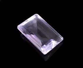 APP: 1.1k 36.00CT Emerald Cut Amethyst Quartz Gemstone