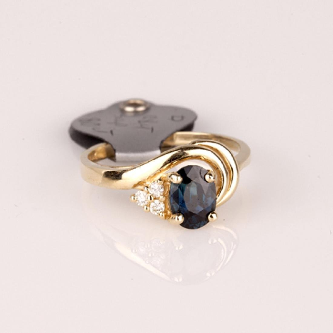 *Fine Jewelry 14 kt. Gold, New Custom Made, 0.08CT