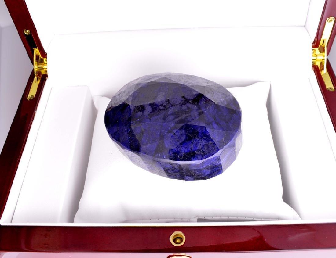 APP: 7.3k 1,463.00CT Oval Cut Blue Sapphire Gemstone