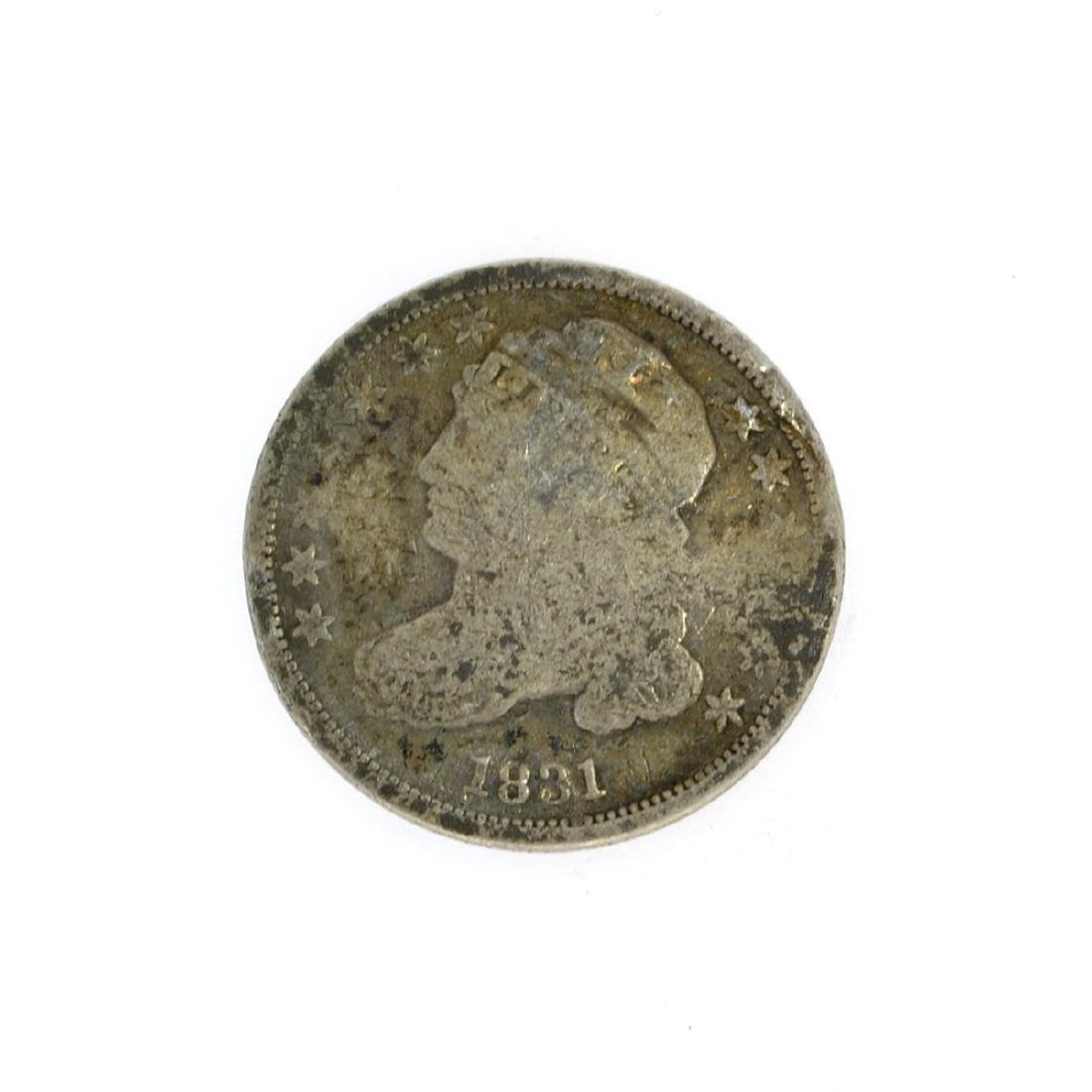 1831 Capped Bust Dime Coin