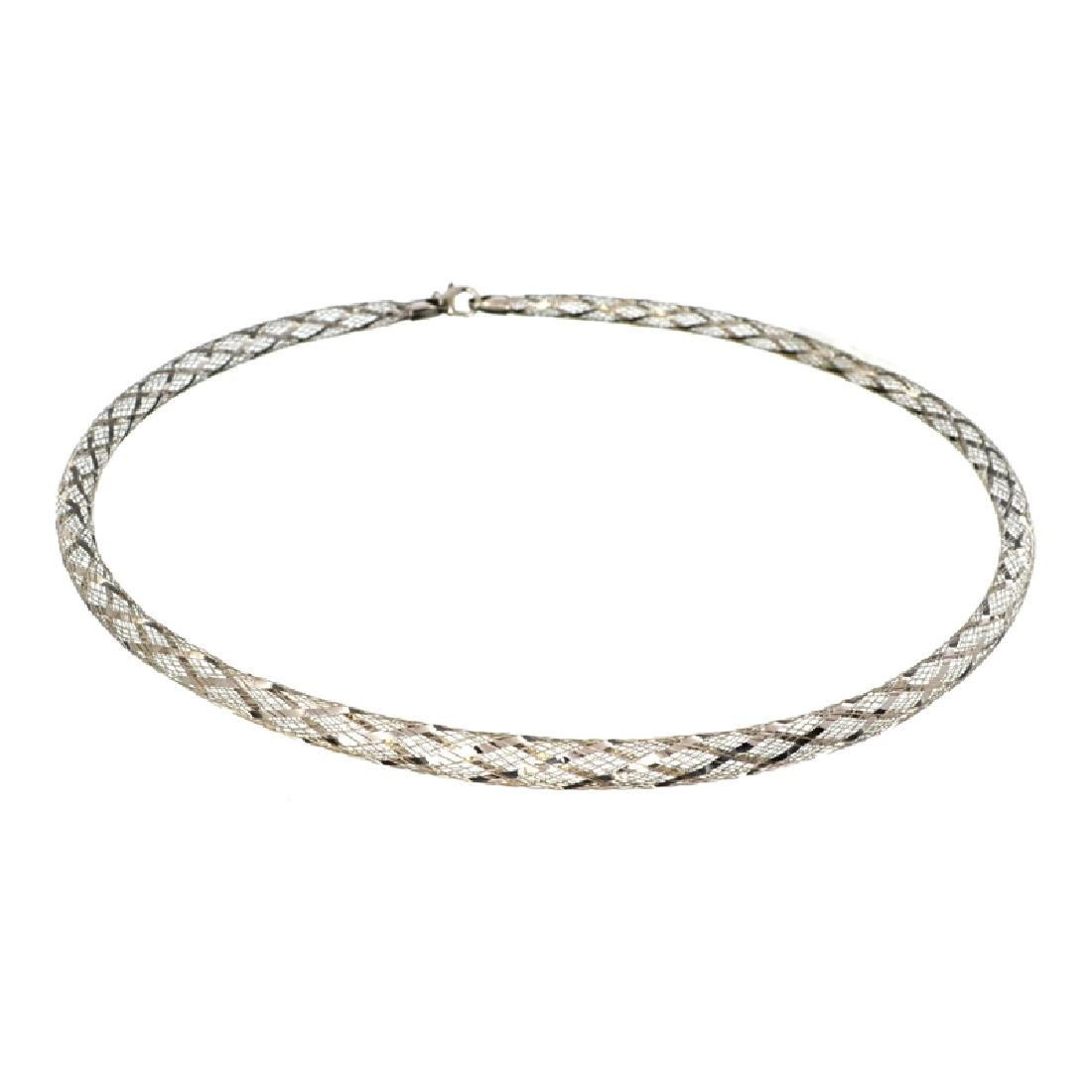 Fine Jewelry Exquisite Sterling Silver Necklace