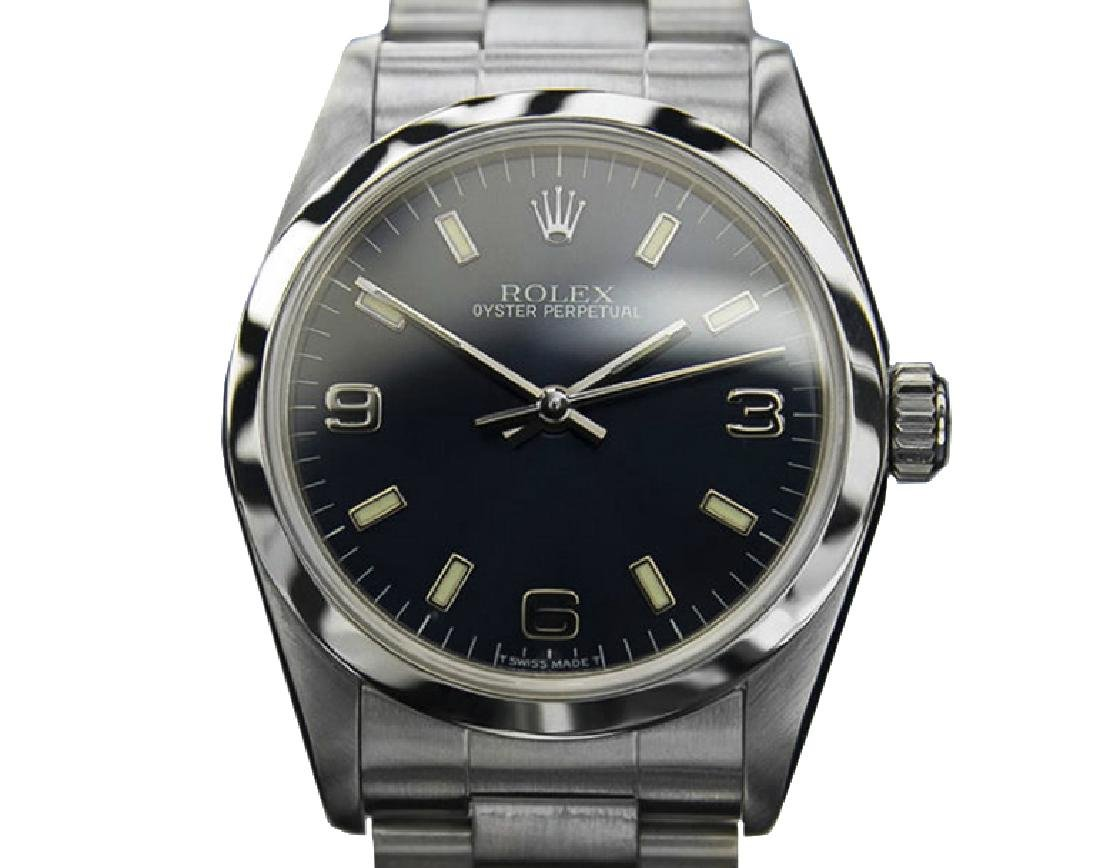 *Rolex Mid Size With Papers 1999 Watch