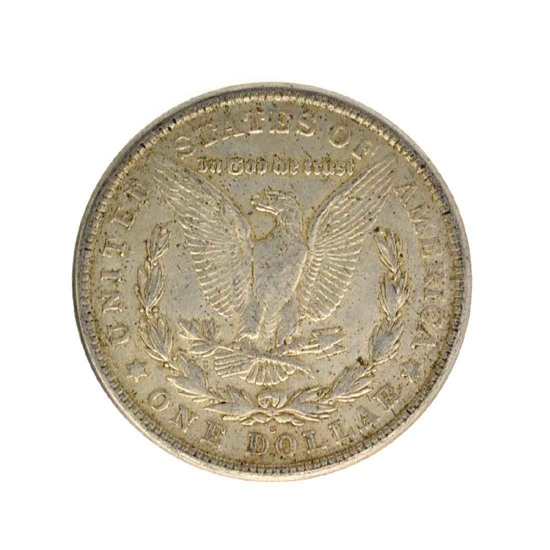 1921 Morgan Silver Dollar Coin - 2