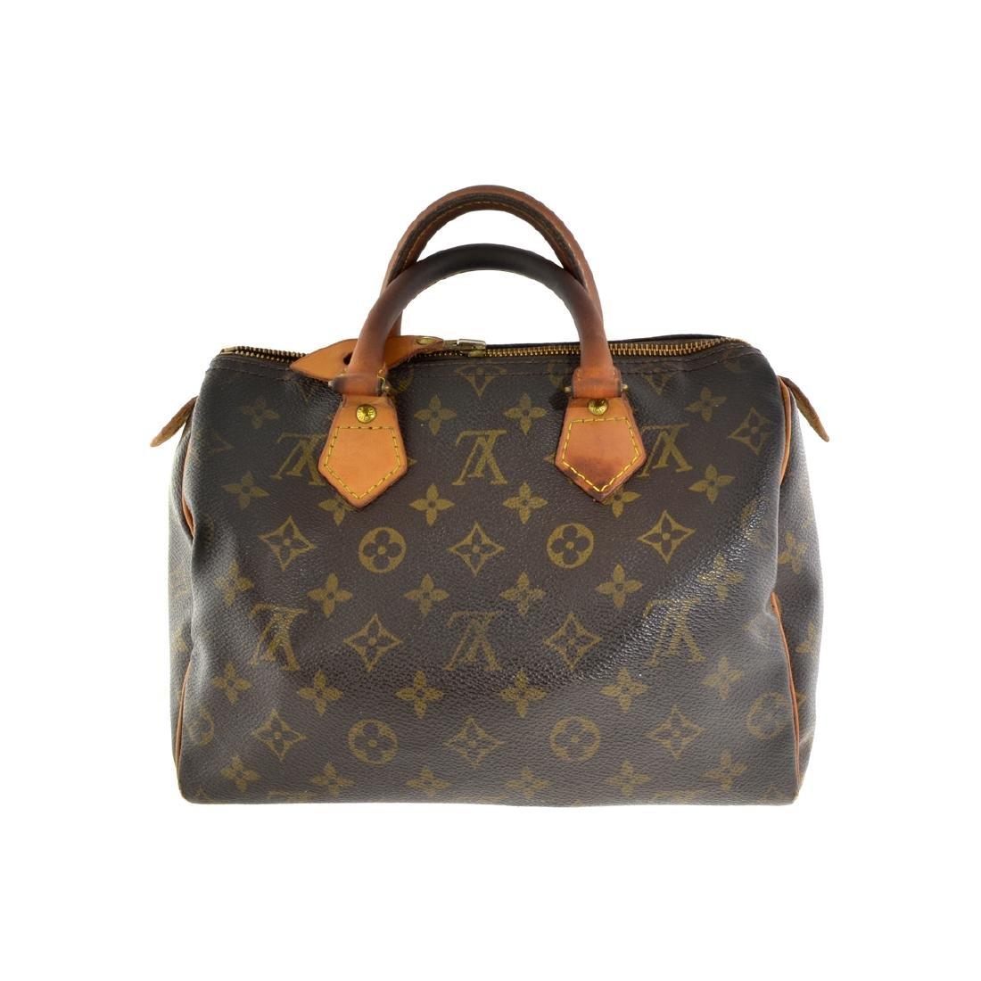Rare Vintage Louis Vuitton Monogram Speedy 25 Purse