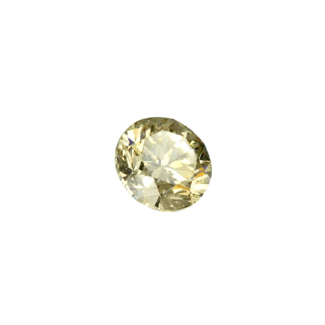 Fine Jewelry GIA Certified 0.77CT Brilliant Round Cut