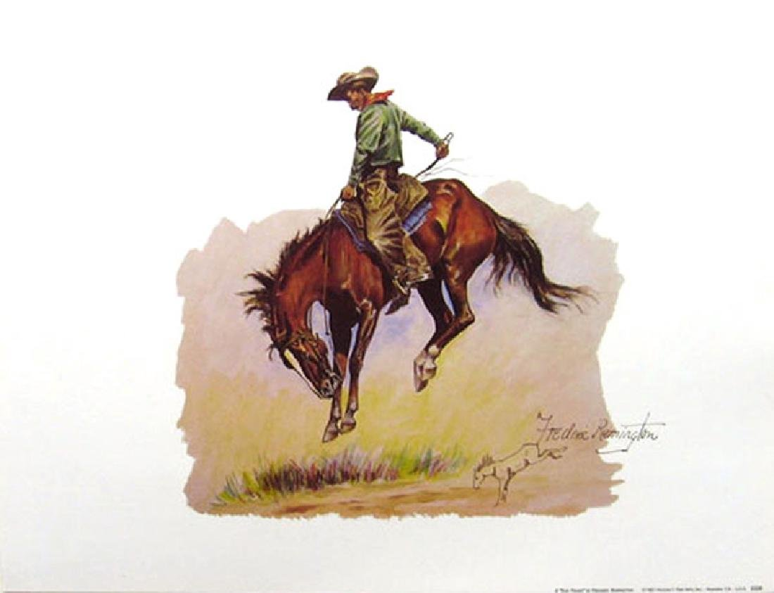 FREDERIC REMINGTON (After) ''Sun Fisher'' Print, 16'' x