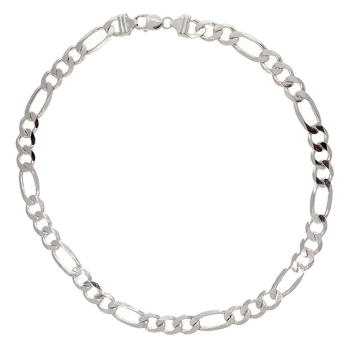 *Fine Jewelry Custom Made 925 Sterling Silver 22''