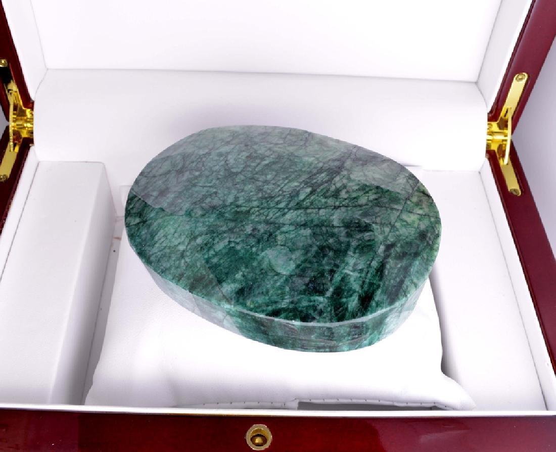 APP: 9.6k 1,925.00CT Oval Cut Green Beryl Emerald