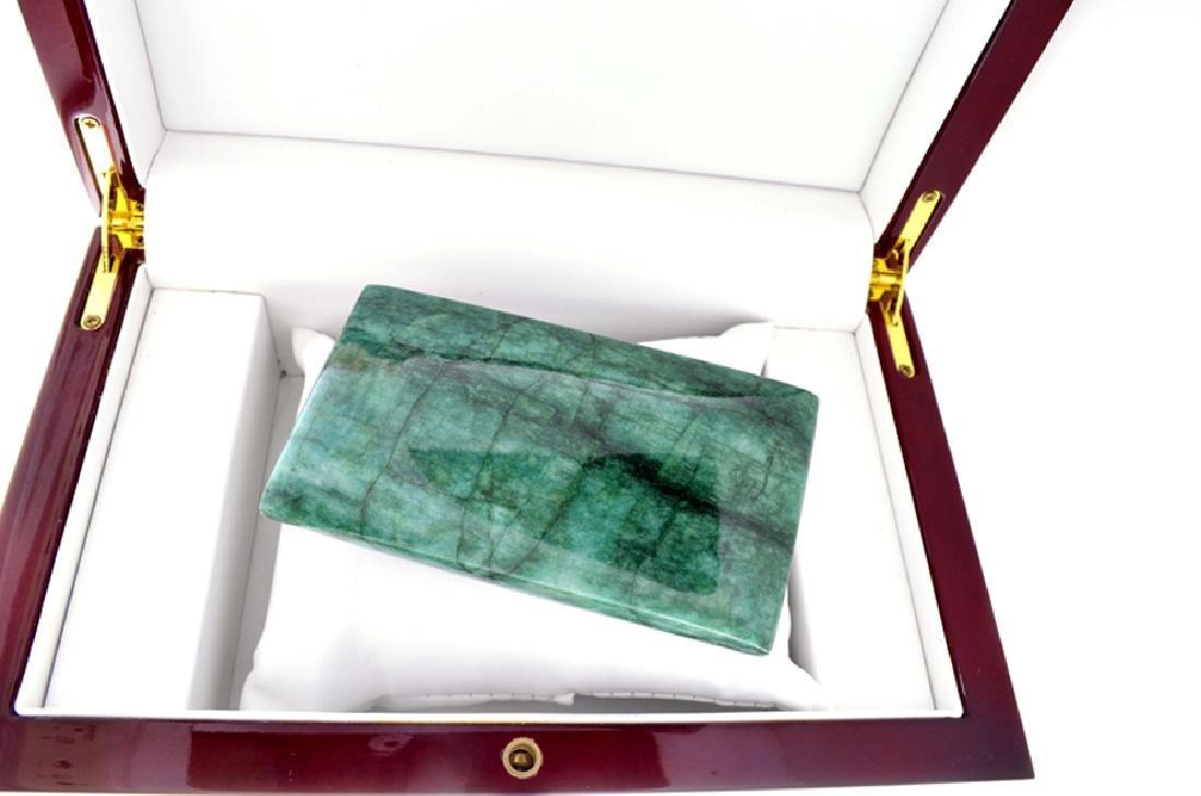 APP: 7.6k 1,517.50CT Rectangle Cut Cabochon Green Beryl