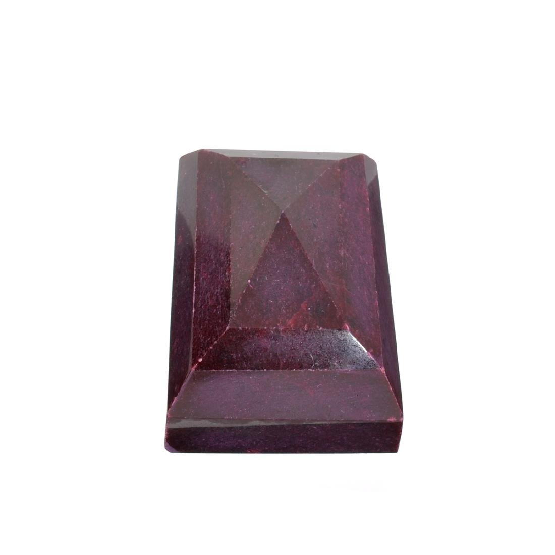 APP: 6k 1,207.50CT Rectangle Cut Ruby Gemstone
