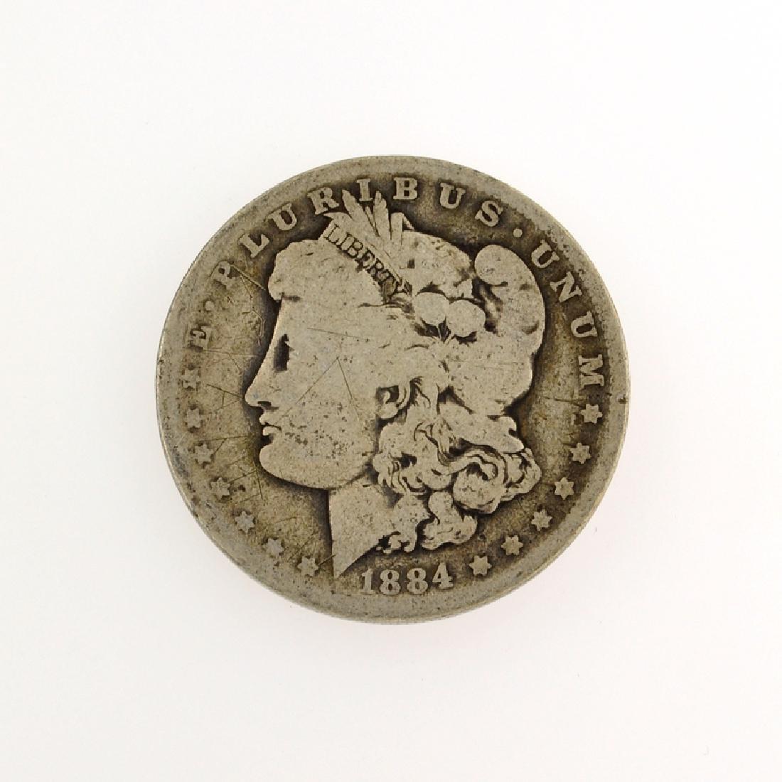 1884-O Morgan Dollar Coin