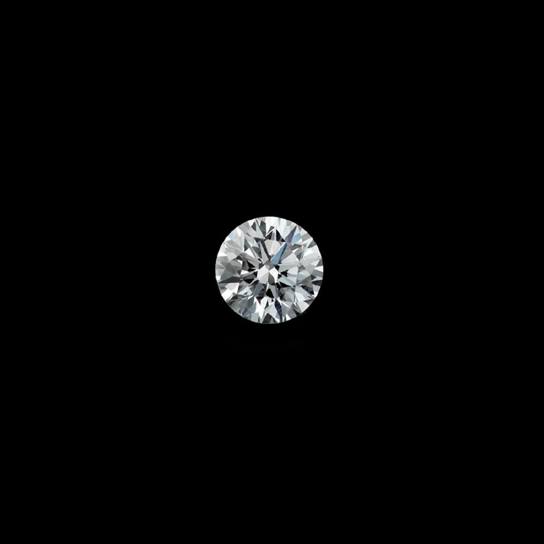 *Fine Jewelry 1.01CT Round Brilliant Cut Diamond