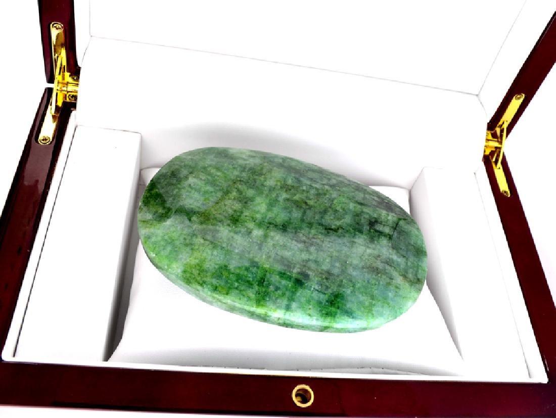 APP: 7.1k 1425.00CT Oval Cut Green Beryl Emerald