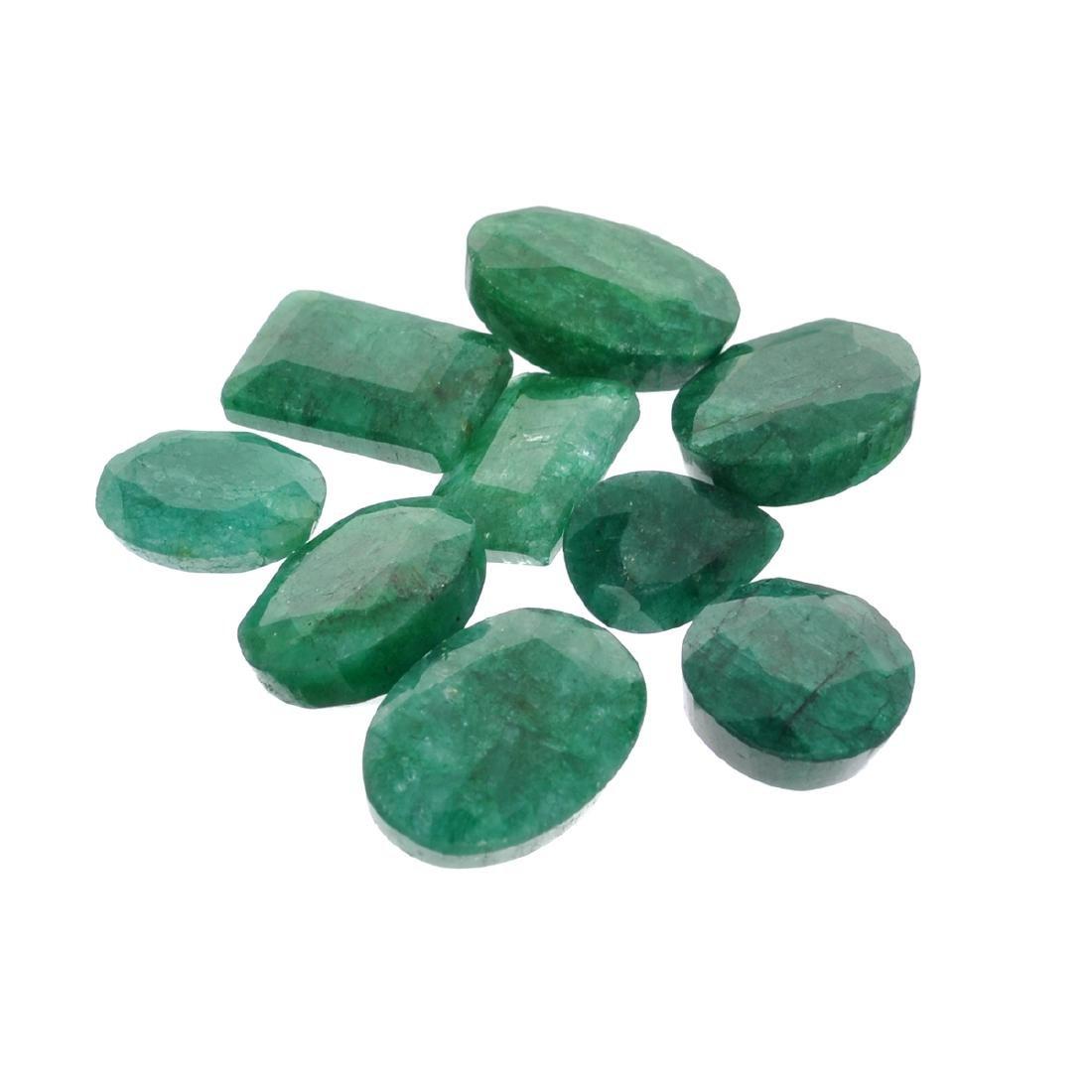 APP: 3.8k 50.61CT Green Emerald Parcel