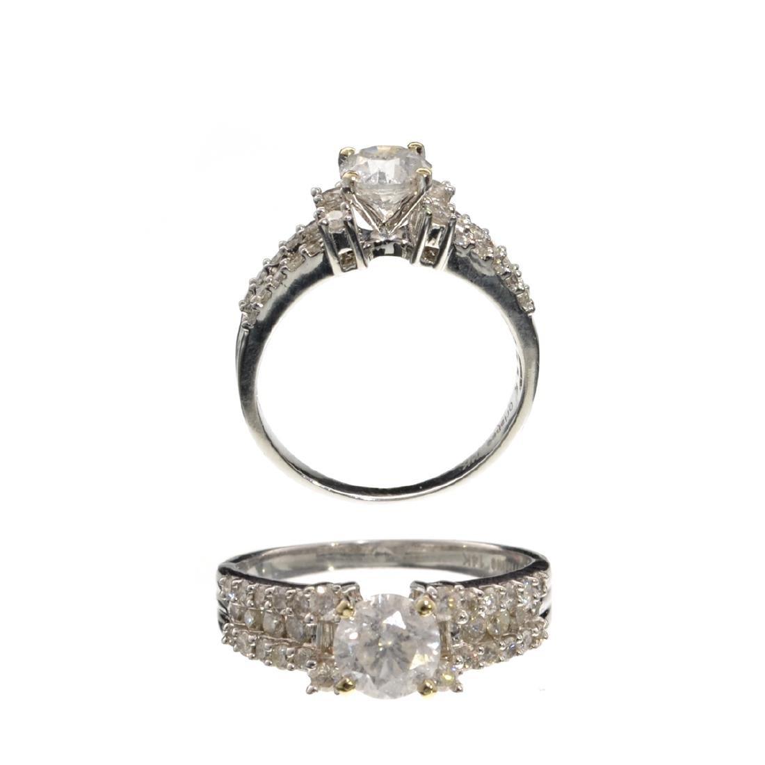 APP: 17.3k *Fine Jewelry, 14KT White Gold, 1.66CT Round