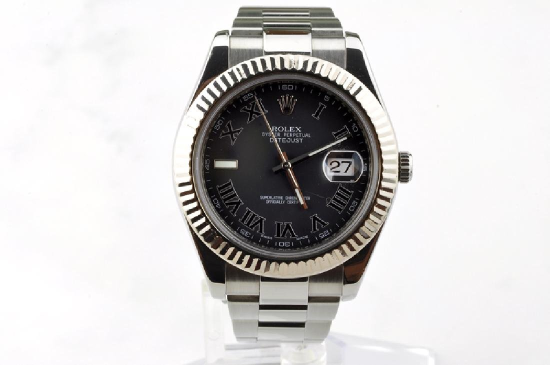 *Vintage Swiss Rolex Oyster Perpetual Datejust