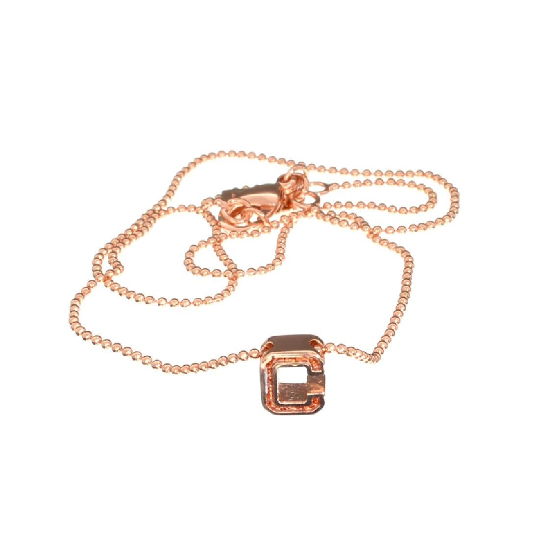 Fine Jewelry COACH Stainless Steel Rose Gold Tone