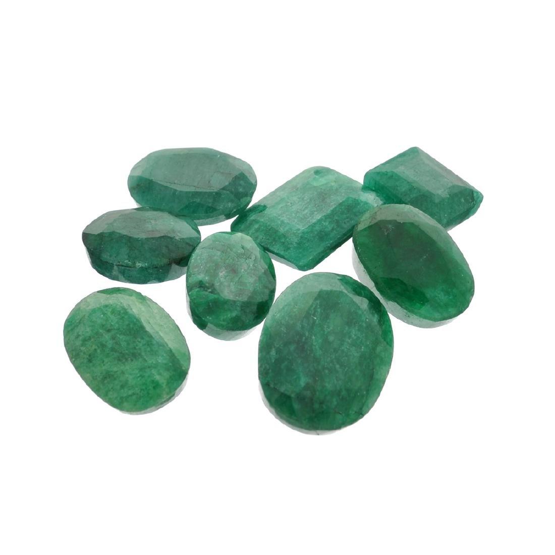 APP: 3.8k 50.18CT Green Emerald Parcel